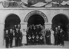 1914 November 11 American Navy Club celebration