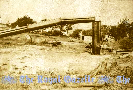 1915 collapse of radio mast