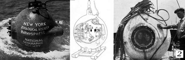 1934 bathysphere descent