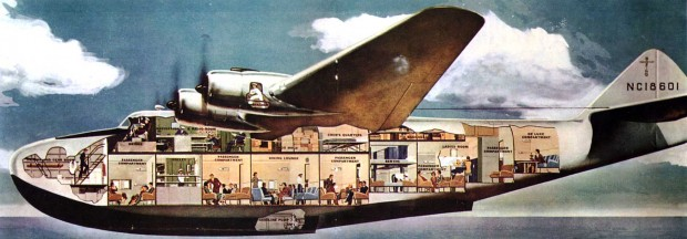 1937 flying boat serving Bermuda