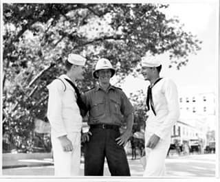 1941 September, US sailors in Hamilton