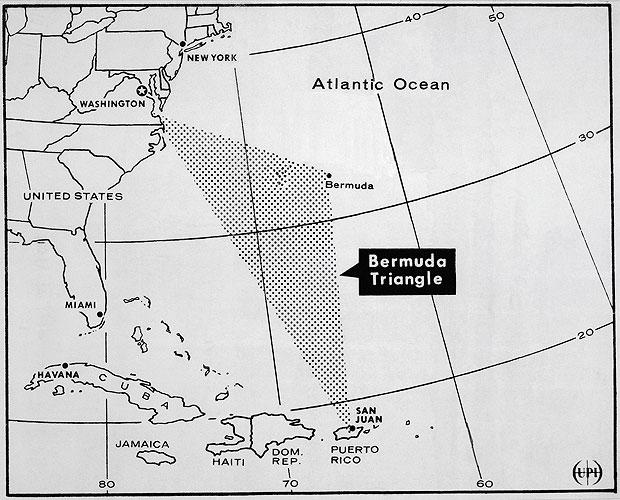 Bermuda Triangle mystery of missing flight