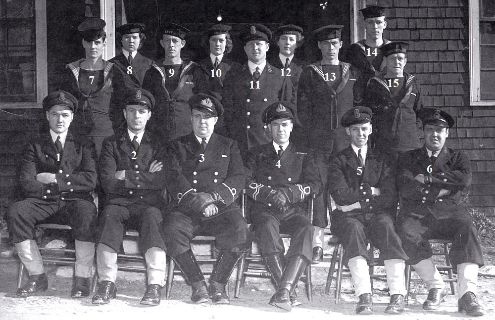 HMCS Somers Isles 1945