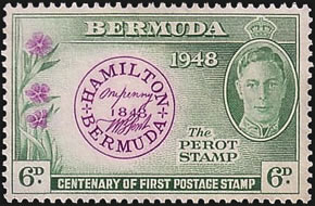 1948 Perot Centenary stamp