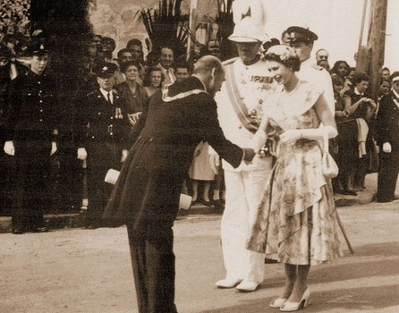 1953 visit of Queen and Duke