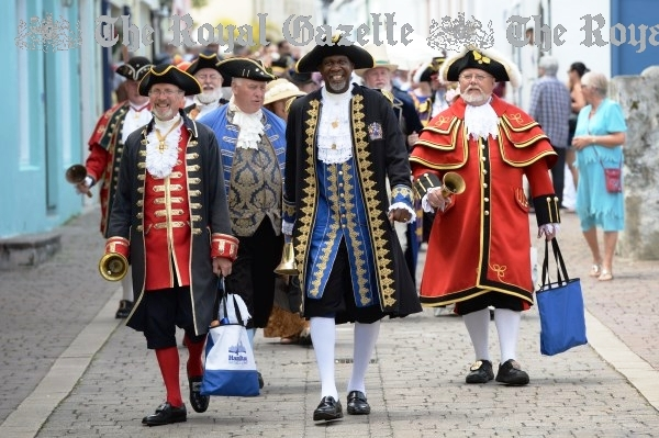2015 Overseas and local Town Criers in Bermuda
