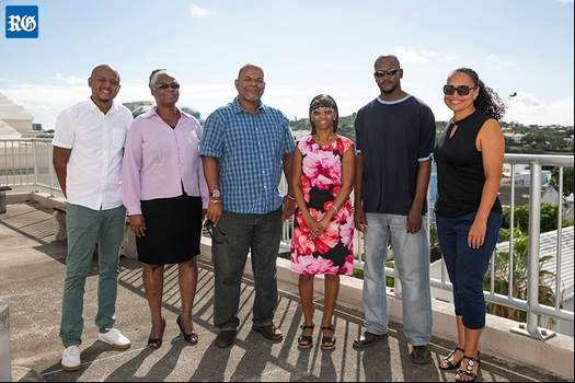 Montserrat officials in Bermuda October 2018