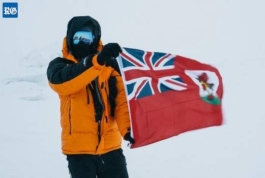 Bermudian at North Pole