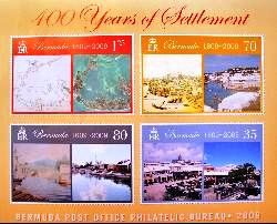 Bermuda stamp for 400th year