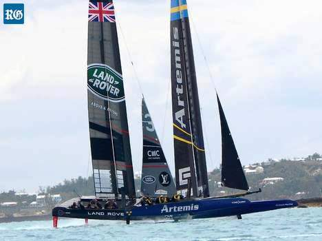 America's Cup Aetemis & Land Rover BAR