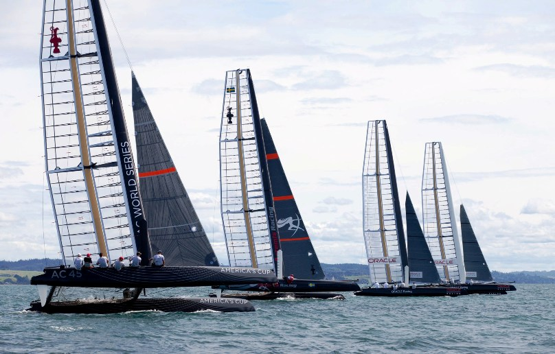 America's Cup challengers