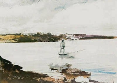 Andrew Wyeth Bermuda painting