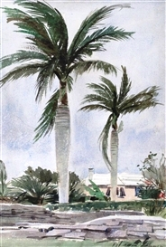 Art by Vern Tremewen in Bermuda 2