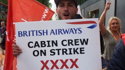 BA cabin crew to strike