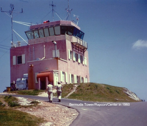 Bermuda Control Tower 1960