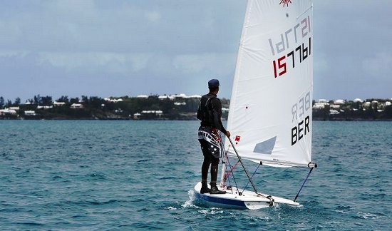 Bermuda International Invitational Race Week, Royal Gazette photo