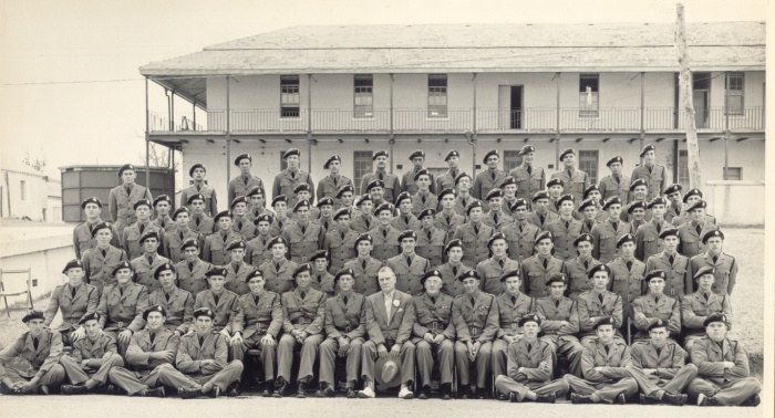 Bermuda Volunteer Rifle Corps (BVRC) with Seeward S. Toddings, Chairman of Defence Board