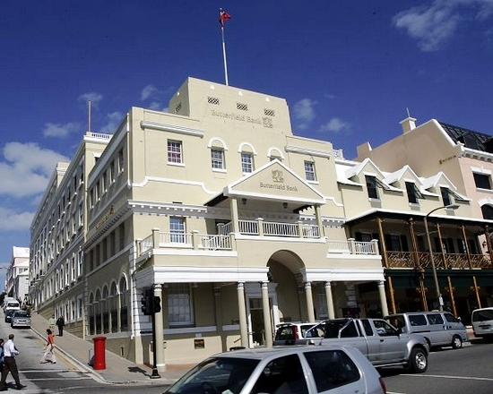 Bank of Butterfield, Bermuda