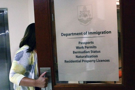 Bermuda Dept of Immigration