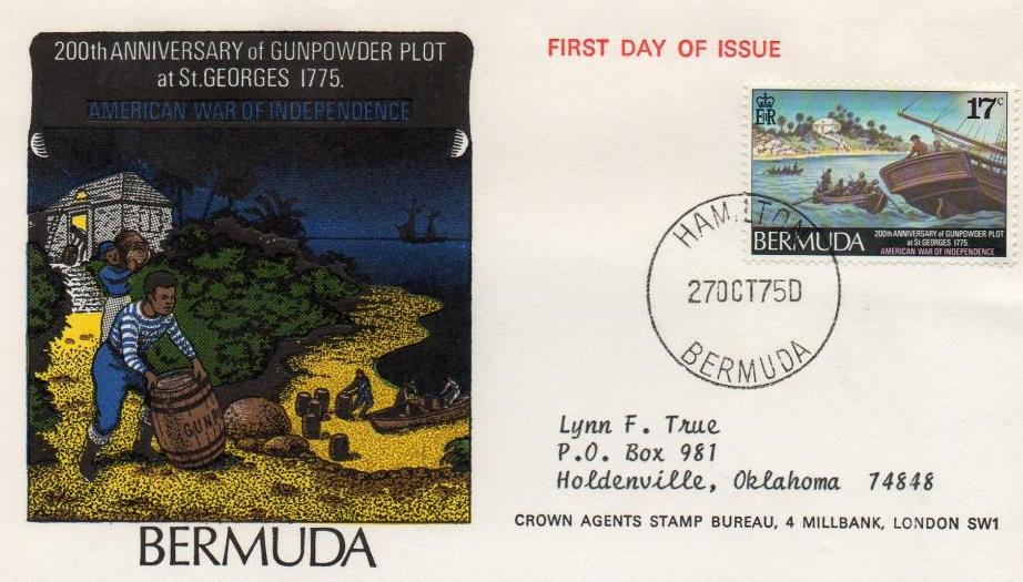 Bermuda Gunpowder Plot