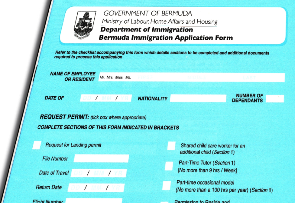 Bermuda Employment Conditions for Newcomers