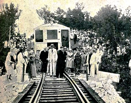 Bermuda railway end