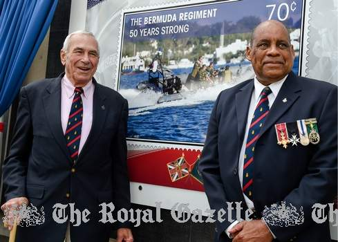 Bermuda Regiment's 50th