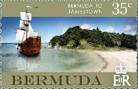 Bermuda Stamps - Jamestown 1