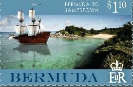 Bermuda stamp Jamestown 2