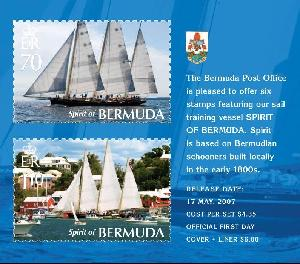 Stamps of Spirit of Bermuda
