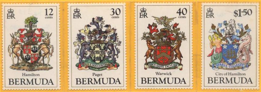 Bermuda stamps of Parishes