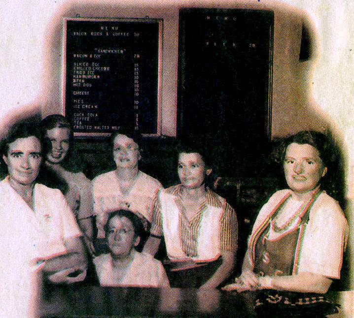 Bermuda Catering Corps war ladies