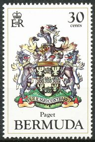 Paget Parish stamp
