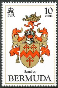 Sandys Parish stamp