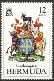 Southampton Parish stamp
