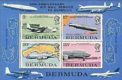 Bermuda stamp issues 1987