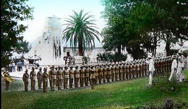 British Army, Bermuda 1930s