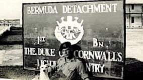 Duke of Cornwall's Light Infantry in Bermuda