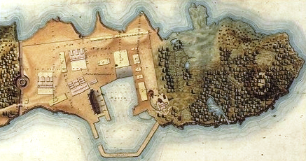 Dockyard fortifications 1818