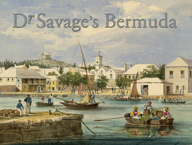 Dr Savage's Bermuda book