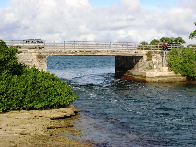 Flatt's Bridge, Bermuda