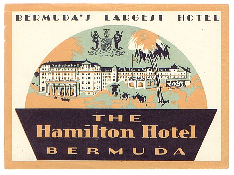 Hamilton Hotel burnt down 1955