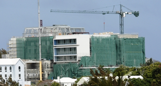 KEMH new hospital wing under construction 2013