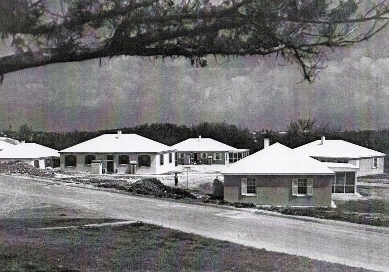 Kindley AFB housing project 1952