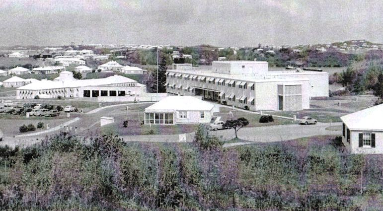 Kindley Air Force Base New Hospital 1956