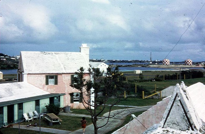 Kindley AFB family officer's quarters 1953