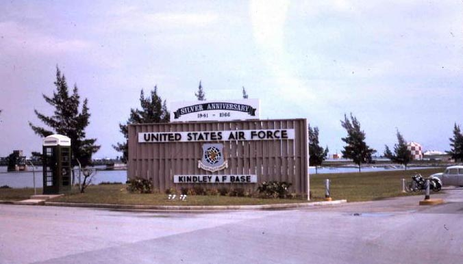 Kindley AFB Bermuda 1966