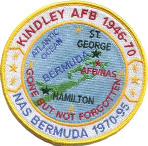 Kindley USNAS patch