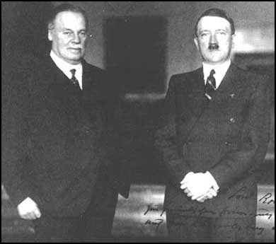 Meeting with Hitler, 1934