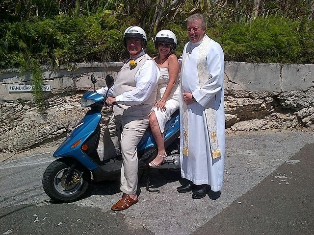 Married in Bermuda